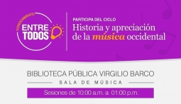 Ciclo de música occidental en la Virgilio Barco